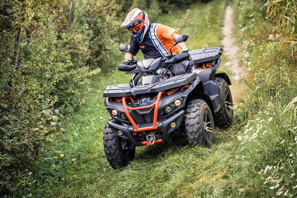 Access ATV in action