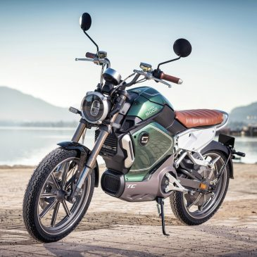 SuperSoco TC – Elektro-Moped im modernen Retro-Look