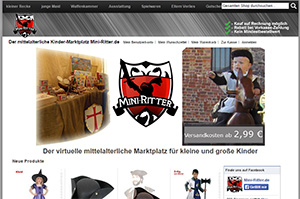 Onlineshop Mini-Ritter.de