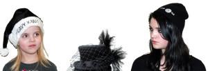 ausgefallene Hüte