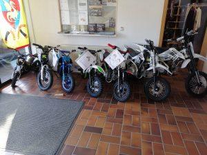 Motorräder für Kinder