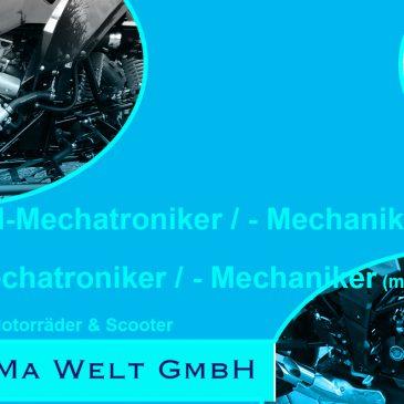 Mechaniker(in) für Quad & Motorrad gesucht