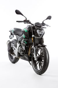 Rivero Monza 125 grün/schwarz