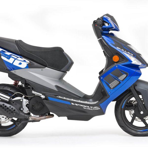 TGB Bull&t in racing-blau