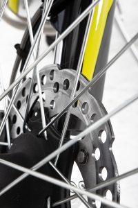SWM-RS-125 Bremsscheibe Detail