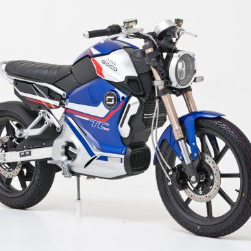 Super Soco TC Pro – elektrisches Retrobike 125er Klasse