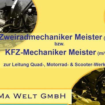 Werkstatt-Meister (m/w/d) gesucht