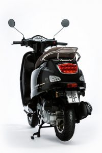 Rivero Toscana 50 schwarz Heck