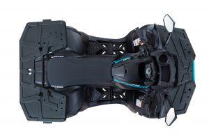 Access Shade Xtreme 850T schwarz von oben