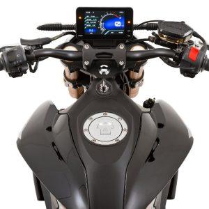 Online Pista 125 dark mode Display