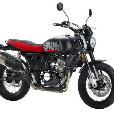SWM Ace of Spades 125 – retro Motorrad