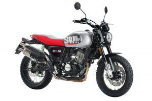 SWM Gran Milano Outlaw125