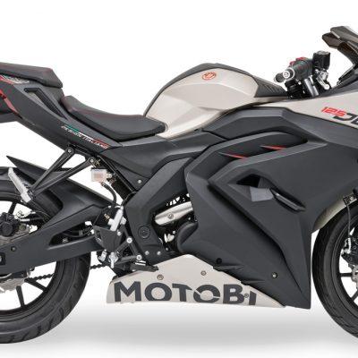 Motobi DL125 Strada rechte Seite