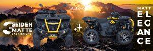 Shade Xtreme 850DLX sunrise Edition