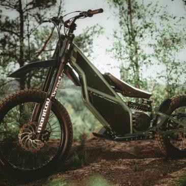 KUBERG Ranger – Elektro Downhill-Bike & Scooter (offroad)
