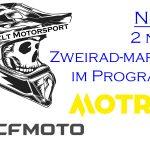 CF-Moto und MOTRON neue Marken