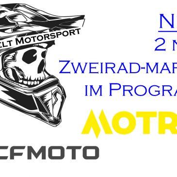 2 neue Zweirad-Marken im Programm
